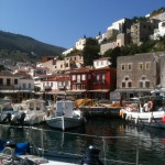 Sailing from the port of Hydra back to Aegina