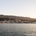 The town of Galatas as seen from Poros