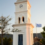 The Clock Tower on the island of Poros