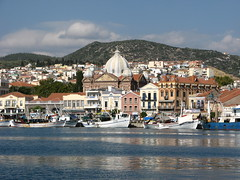 Mytilene in Greece