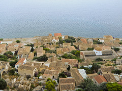 Monemvasia in Greece